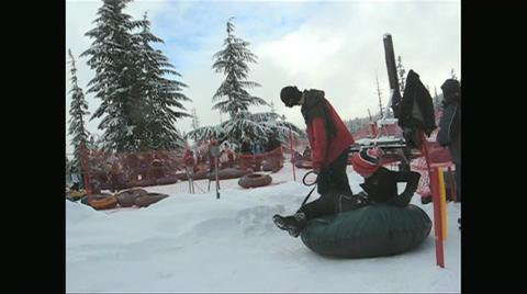 Tubing at Skibowl on Mt. Hood