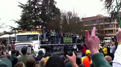 Parade of Champions in Eugene