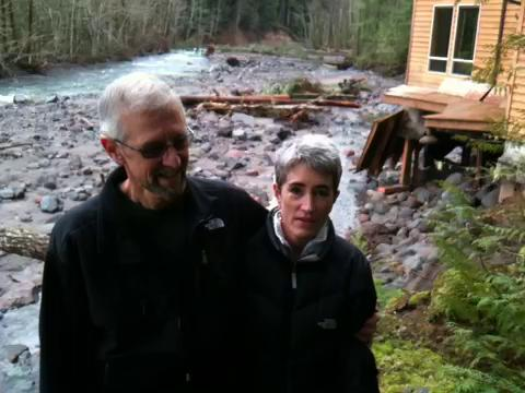 Ann and Bob Chudek talk about their home near Lolo Pass
