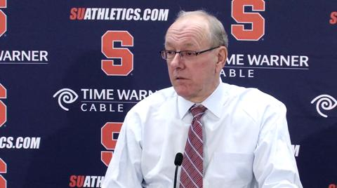 Syracuse vs. Iona: Coach Boeheim