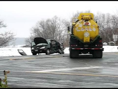 Serious crash on Route 5 in Camillus