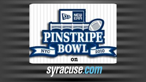 Follow our Team at the Pinstripe Bowl