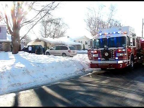 Fire damages garage in Camillus