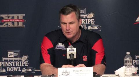 Pinstripe Bowl: Coach Marrone Post-Game Press Conference