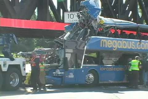 Onondaga Lake Parkway bus crash