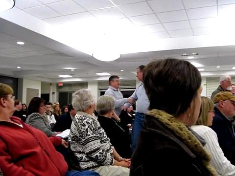 Jordan-Elbridge school board walks out at its own meeting