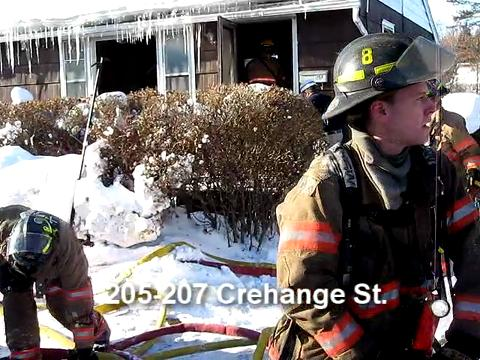 Crehange Street Fire