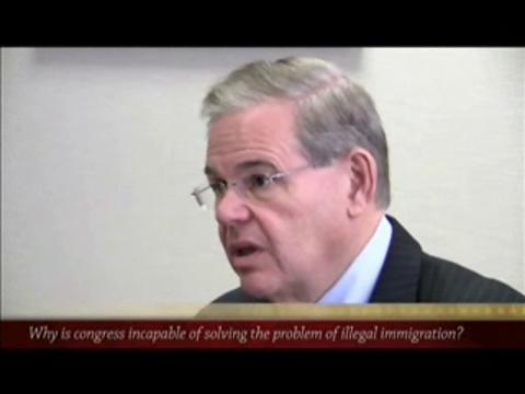 Jersey Journal editorial board meeting with Sen. Menendez: Illegal immigration