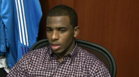 Chris Paul on why New Orleans Hornets have to play hard and smart