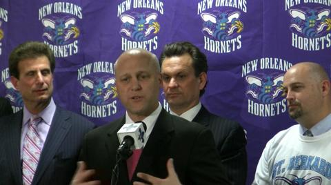 Mayor Mitch Landrieu outlines next two steps in keeping New Orleans Hornets: video