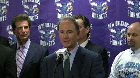 New Orleans Hornets' Jac Sperling calls support 'inspirational'