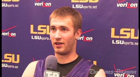 LSU's Matt Derenbecker talks about the Tigers getting better: video