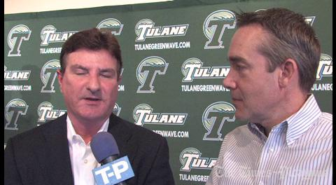 Tulane baseball coach Rick Jones ready for the season to begin: video