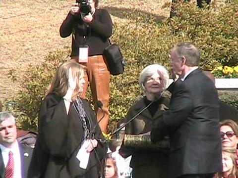 Robert Bentley inauguration as Alabama's 52nd governor