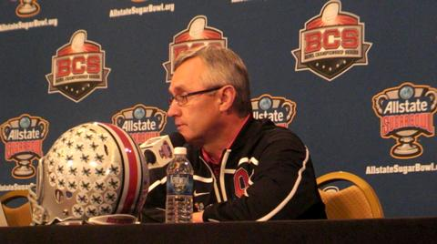 Jim Tressel on disappointment of players selling memorabilia