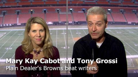 Tony Grossi and Mary Kay Cabot analyze the Cleveland Browns loss to the Pittsburgh Steelers