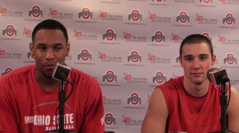 Ohio State's Jared Sullinger on Aaron Craft