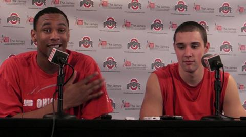Ohio State's Jared Sullinger and Aaron Craft