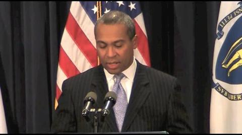 Gov. Deval Patrick: Independent redistricting panel not likely.