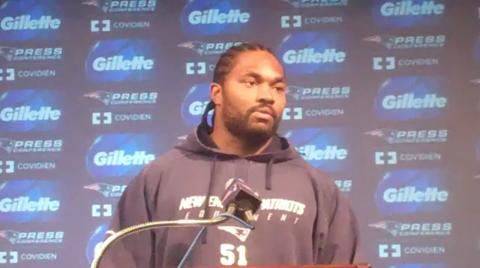 Patriots vs. Jets: LB Jerod Mayo talks about upcoming playoff game