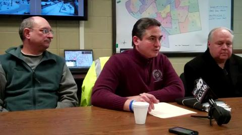 Springfield briefing on snow emergency