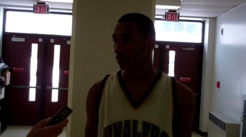 2011 HoopHall Classic: Torin Childs-Harris (New London) and Jelani Currie (Albany) interviews