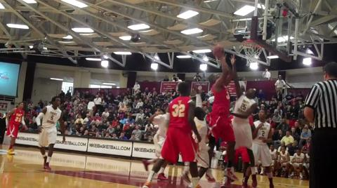 Kevin Johnson (Undeclared) highlight reel - 2011 Hoophall Classic