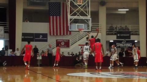 Dez Wells (Xavier) with a monster dunk - 2011 Hoophall Classic highlight video