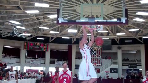 Findlay Prep's Nick Johnson dunk at 2011 HoopHall Classic