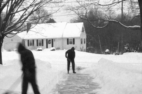 Rare Archival Footage of Ancient Snow Removal Techniques
