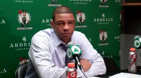 Doc Rivers address media following win over the Cavs
