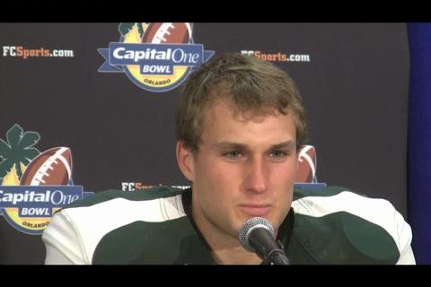 Mark Dantonio, Kirk Cousins Capital One Bowl postgame press conference