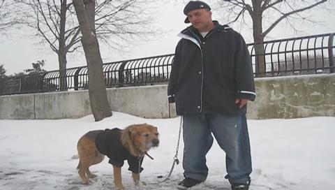 Staten Island dog owners struggle to keep furry friends safe in cold, snow
