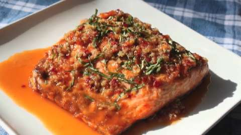 salmon with this ginger garlic glazed have salmon everyday for salmon ...