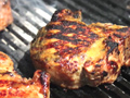 Molasses-Brined Pork Chops
