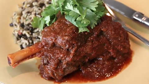 Lamb Shank Vindaloo
