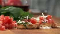 Tomato Basil Crostini