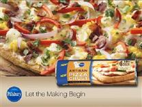 Breakfast Pizza from Pillsbury