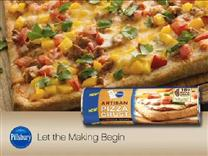 Taco Pizza from Pillsbury&#174; Pizza Crust