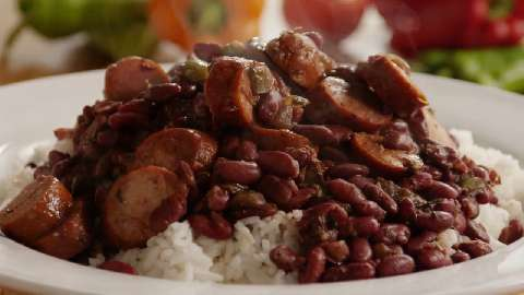 Easy vegetarian beans and rice recipes