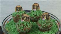 How to Make Graveyard Cupcakes