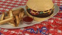 How to Make a Cheeseburger Cake