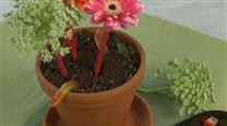 How to Make a Flower Pot Cake