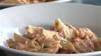 Creamy Parmesan &amp; Sun-Dried Tomato Chicken Penne