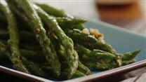 Saut&#233;ed Garlic Asparagus