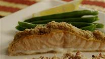 Baked Salmon Dijon