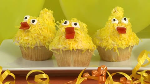 How to Make Duck Cupcakes