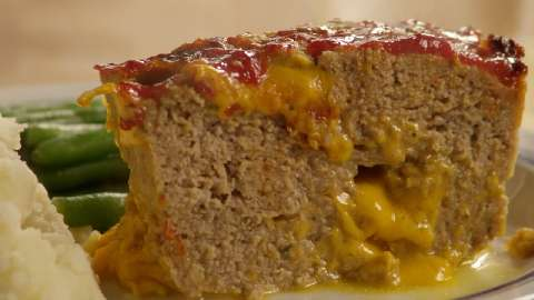 Incredibly Cheesy Turkey Meatloaf Video - Allrecipes.com