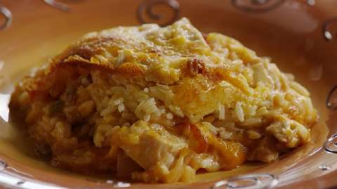 Salsa Chicken Rice Casserole