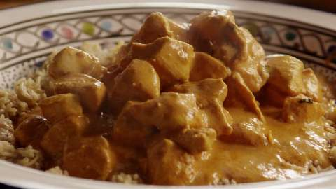 Butter chicken and recipe